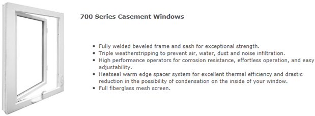 Casement windows Milwaukee
